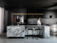 A Discrete Layered Entity Hampden Road House By Archier Hobart Tas Australia Image 17 Latest Kitchen Designs, Local Architects, Interior Design Kitchen, Soft Furnishings, Interior Architecture, Home Goods, Cool Designs, House, Kitchens