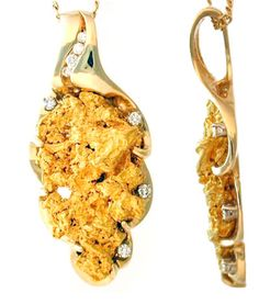 Gold nugget jewelry | Pioneer Traders