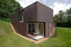 Copper Clad Weekend House, Switzerland