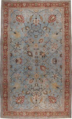 Antique Tabriz Carpet, No.23099 - Galerie Shabab