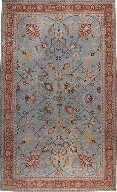 Antique Tabriz Carpet, No.23099 - Galerie Shabab