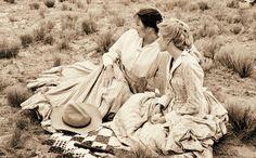 Clara and Lori Lonesome Dove