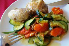 cocina-rendez-vous: Vištiena su daržovėmis