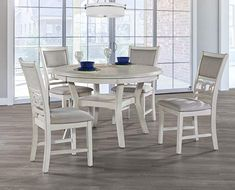 7669344322bbd New Classic Gia Round 5 Piece Dining Set