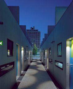 student housing, Munich, olympic park