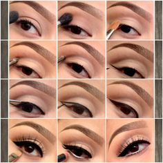 50's Glam Eye by Pala Foxia (M.U.A) #makeup #pictorial- straighter, flatter winged eyeliner