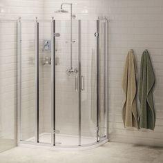 Buy Burlington Traditional RH Offset Quadrant Shower Enclosure, x Glass today. Burlington Part No: Free UK delivery in approx 7 working days. Bath Mixer Taps, Shower Accessories, Shower Tray, Corner Vanity Unit, Shower Enclosure, Wall Mounted Vanity, Victorian Bathroom, Shower Doors, Shower Valve