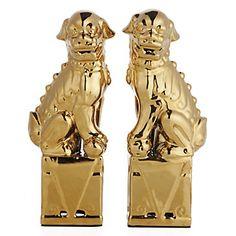 $49 Ceramic Foo Dogs | Decorative-accessories | Accessories | Z Gallerie