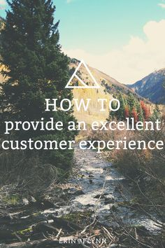 It's not enough to provide a service. There are thousands of other web designers out there, and clients have their choice of who to work with. But when you provide an excellent customer experience, your clients will refer others to you. Learn how to provide an excellent customer experience - click through to read the post!