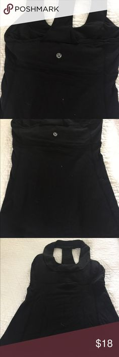 Lululemon round neck workout top with mesh Lululemon round neck workout top with mesh lululemon athletica Tops