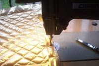 I use quilted lamé fabric from Hancock's. I trace out my general shape and add seam allowance. With chalk and a ruler, I mark from. Rocky Horror Picture Show Costume, Rocky Horror Costumes, Space Suit Costume, Space Costumes, Lame Fabric, I Gen, Costume Patterns, Space Suits, Halloween Decorations