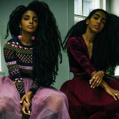 Stylish in pink - the sisters from @urbanbushbabes  #fashion #style #pink #naturalista #naturalhair #bighair #trendsetter #fashionista #outfitinspirations #whattowear #apif #sisters #apifrocks