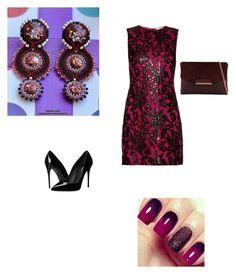 """Soutache earrings Extraordinary"" by natalialuzik on Polyvore featuring мода, Diane Von Furstenberg, Dolce&Gabbana и ALDO"
