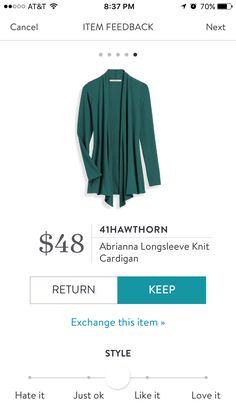 41Hawthorn Abrianna Longsleeve Knit Cardigan