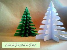 Árbol de Navidad con hojas de colores ¡FACIL Y SECILLO! - Manualidades | Ani Crafts - YouTube
