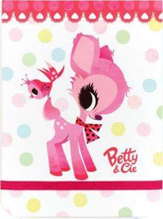 Carnet élastique Betty & Cie LILIDOLL Jolis confettis