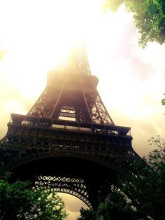 Eiffel Tower - Paris, France {Never forget the view of Eiffel's skirt!}