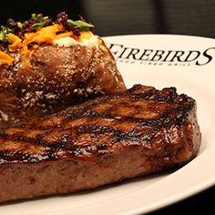 Firebirds Steaks - Aged Ribeye