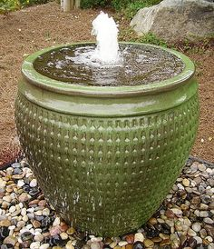 Fountain for our pot idea