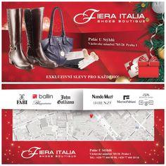 FIERA ITALIA.  Shoes boutique. Vaclavske namesti 28. Pasáž U STYBLU.