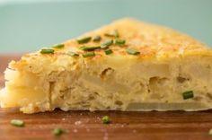 tortilla espanola (Spanish Potato Omelet) So delicious a must make.