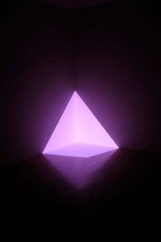 """Turrell's installation """"Alta (Pink)"""" as part of the """"Cosmic Wonder"""" exhibition at San Francisco's Yerba Buena Center for the Arts in 2006:"""