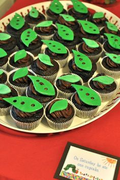 A Very Hungry Caterpillar themed birthday party!  From my friend Kayla's blog! Lot's of cool idea's!  Although I'll probably do a girl themed party for Gretchen, but just wanted to share the love on Pinterest!