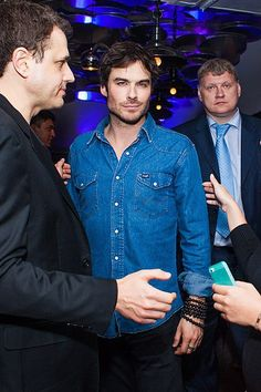 Ian Somerhalder - Dinner in honor of Ivana Chubbuck - Moscow, Russia 27/05/2013