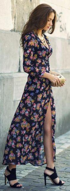 Printed Maxi Dress 4