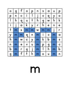 Hidden Pictures for Lower Case Alphabet Recognition