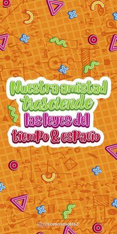 15 Fondos de Pantalla Historias de Amistad Para Día del Amigo Bff, Banner, Kids Rugs, Lettering, Stickers, Humor, Motivation, Wallpaper, Ballerina