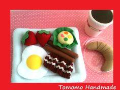 ETSY Pretend Felt food Play food  Lovely  by TomomoHandmade, $35.00