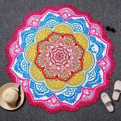 Lotus Flower Bohemian Tapestries