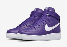 Awesome news for all die-hard Air Force 1 fans: the classic purple and white colorway of the Air Force 1 High is coming back. Compliments of NikeLab, the iconic purple colorway of the high-top Forces will be available again soon, … Continue reading →