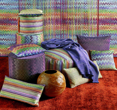 """Master classic"" collection all zig zag mood by MissoniHome"