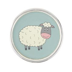 Baa Baa Sheep Pin