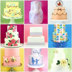 Bright Wedding cakes
