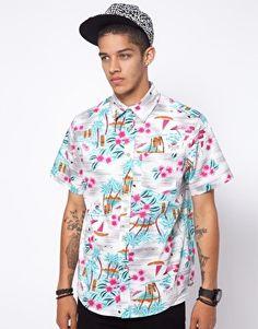 Mishka Wowie Hawaiian Short Sleeve Shirt