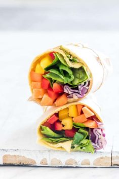 healthy dinner recipes under 500 calories per mile 2 mile Veggie Wraps, Healthy Toddler Meals, Healthy Snacks For Kids, Kids Meals, Clean Eating, Healthy Eating, Wrap Recipes, Lunch Recipes, Sin Gluten
