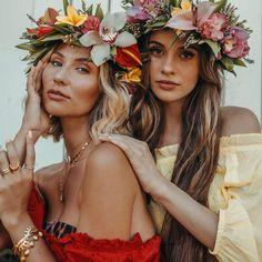 9 Unforgettable Ideas for a Senior Trip . Cool Instagram, Instagram Grid, Luau, Self Portrait Poses, Hawaian Party, Small Wedding Receptions, Kaiser Wilhelm, Senior Trip, Girls Rules