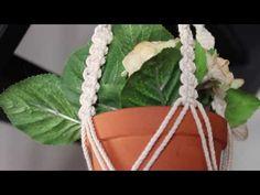 of Macrame Plant Hanger for Beginners DIY Tutorial Pots, Macrame Plant Hangers, Macrame Knots, Creating A Blog, Diy Tutorial, Diy And Crafts, Weaving, Crafty, Walmart