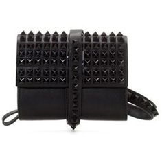Studded Solid-tone Envelope Clutch ($39) ❤ liked on Polyvore featuring bags, handbags, clutches, bolsas, purses, blackfive, envelope clutch bag, studded purse, handbags purses and studded handbags