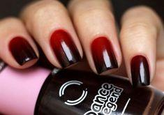 Черно-красный маникюр - 39 фото модного красно-черного маникюра