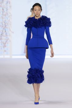 Ralph and Russo Couture Spring/Summer 2016  - HarpersBAZAAR.co.uk http://www.babypron.com/justbeauty