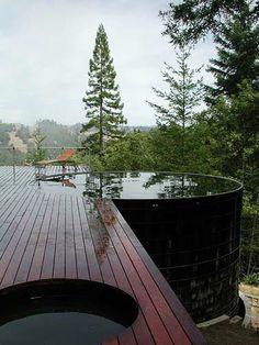 #piscina #terraza #céspedartificial #stepongreen.com