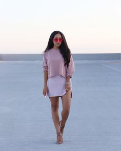 d3c30344ea Monochromatic Outfit - shades of blush
