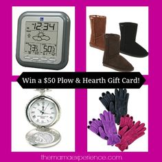 $50 Plow & Hearth Gift Card Giveaway at The Mama Experience