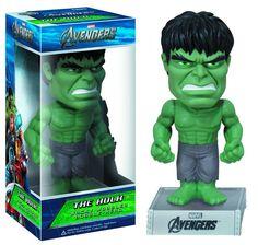 Cabezón Los Vengadores 2012 (The Avengers). Hulk, Wacky Wobbler. Funko