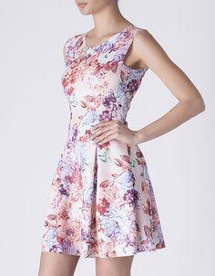 Vestido neopreno flores | NUEVO! | SHOP ONLINE SUITEBLANCO.COM