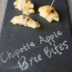 Chipotle Apple Brie Bites